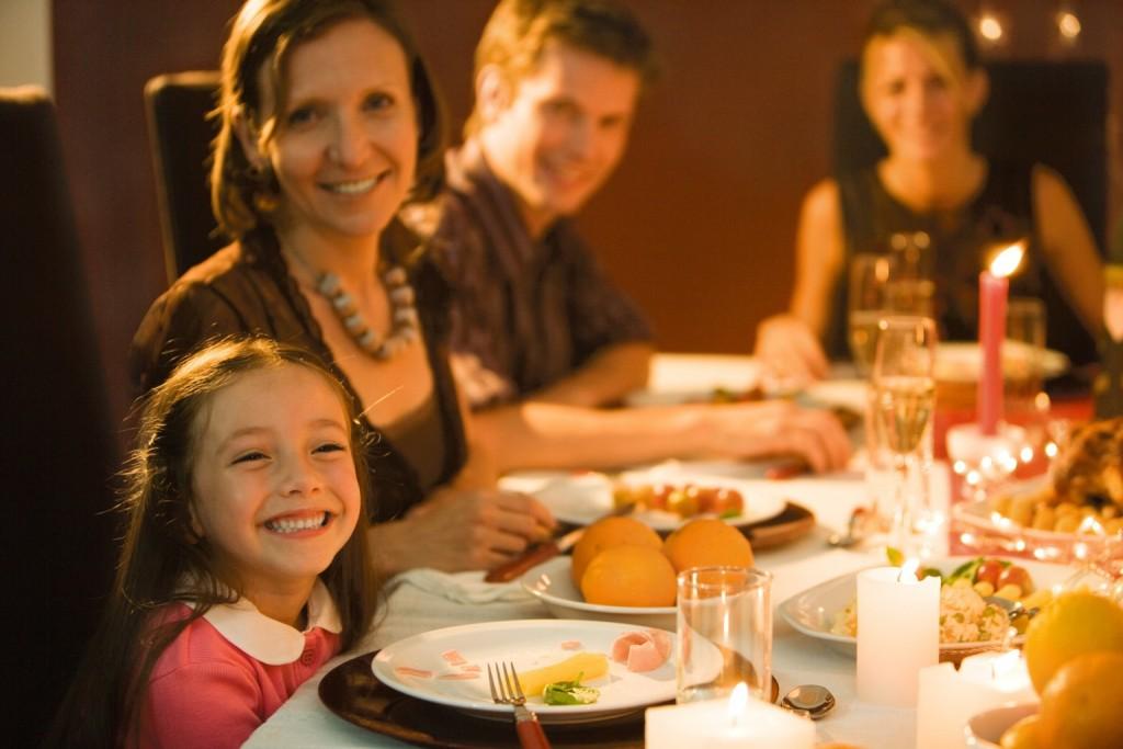 Ужин с семьей
