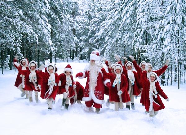 Деды Морозы Великого Устюга