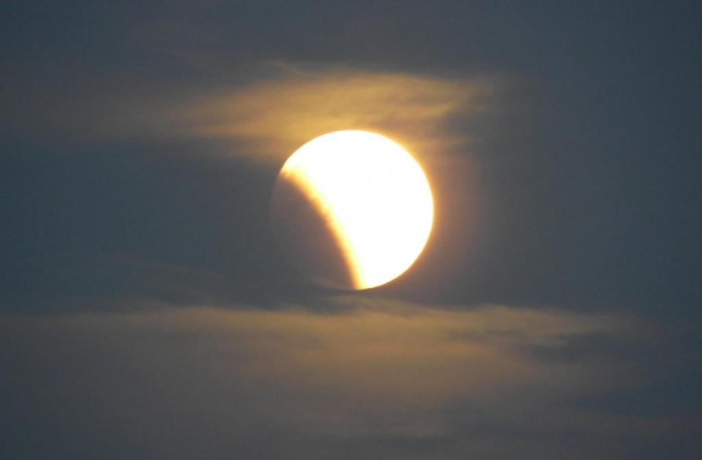 Частные лунные затмения