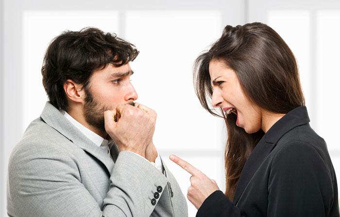 Ссора с коллегой