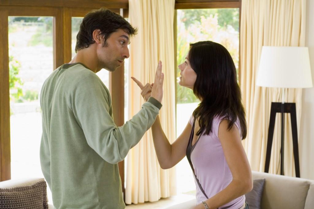 Супруги спорят