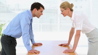 Спор с шефом