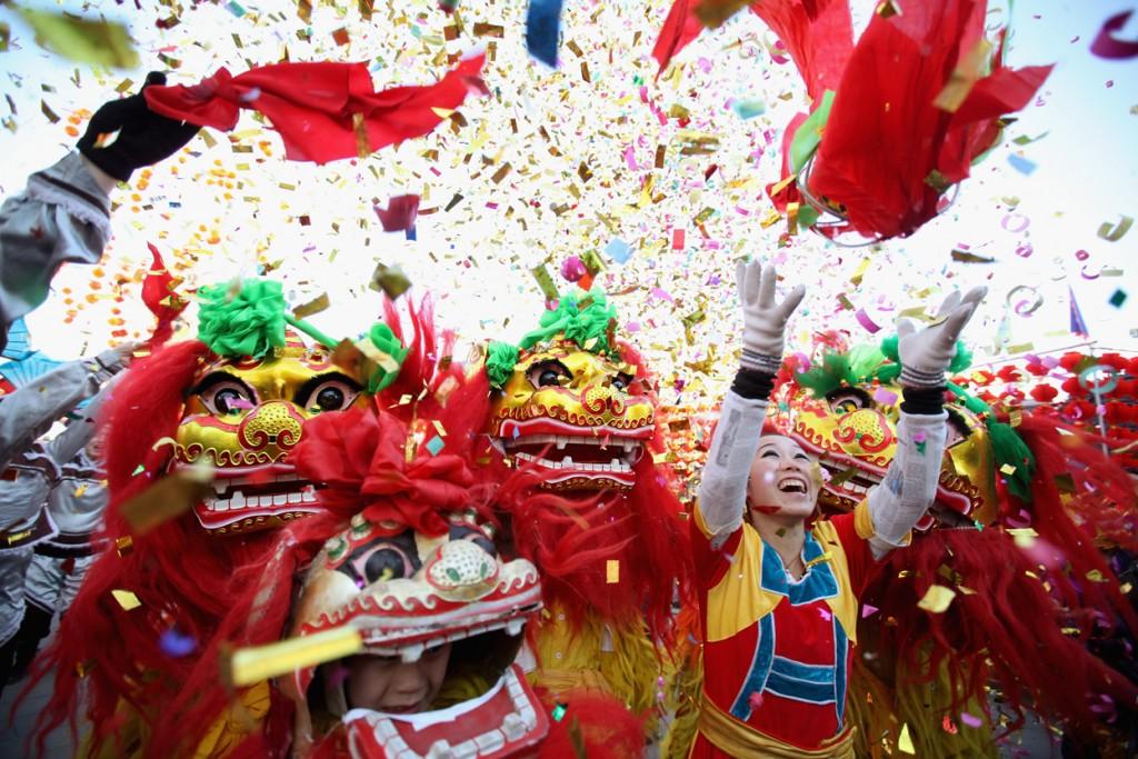 Карнавал в Китае